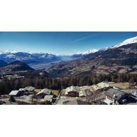 Crans-Montana Chalet Private Island Switzerland