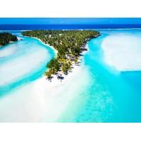 Premium Beachfront Bungalow Private Island Cook Islands