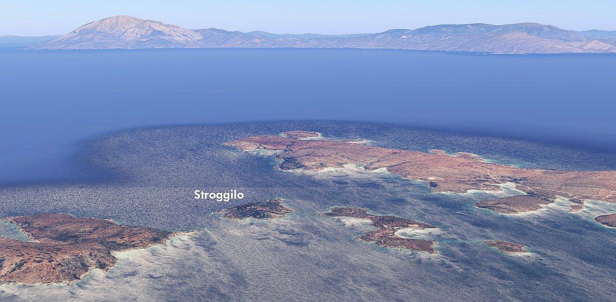фото Stroggilo Private Island Italy