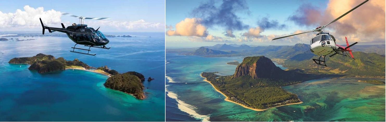 арендовать вертолет на острове