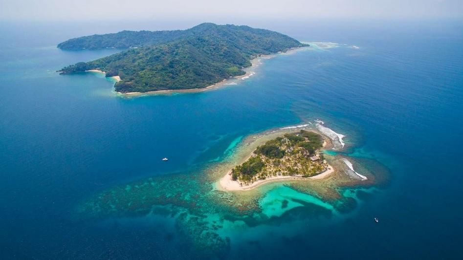 частный остров Ламбей-Кей, Гондурас