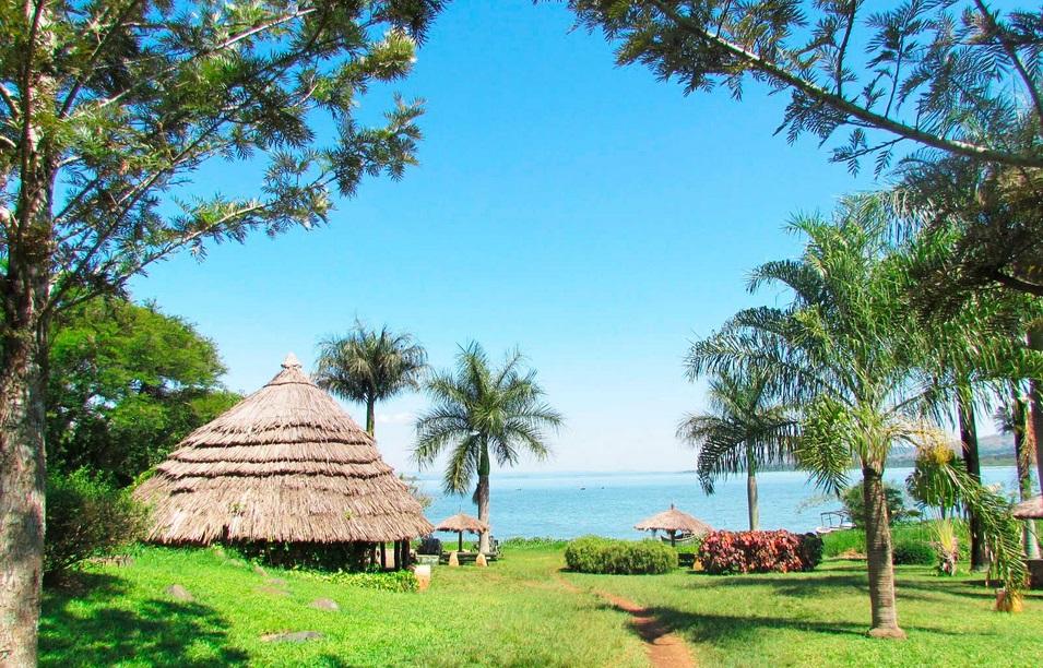 частный остров Куме, Уганда