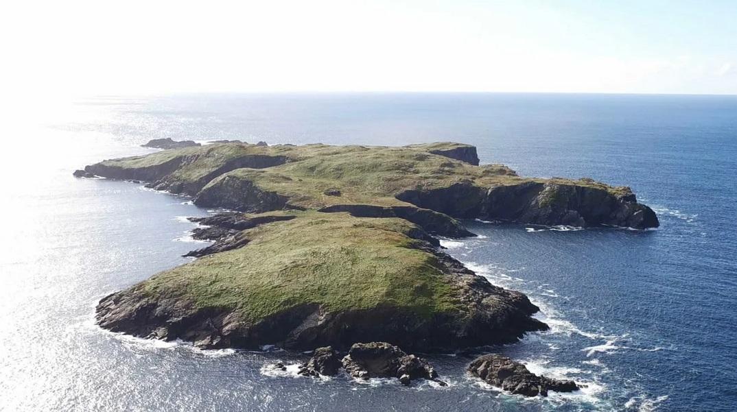 частный остров Вест-Телф, Ирландия