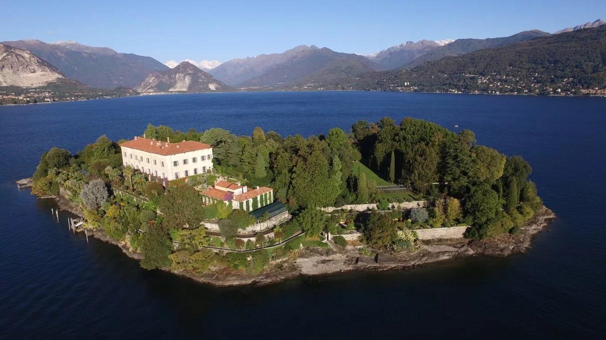 частный остров Изола Маринелла, Италия