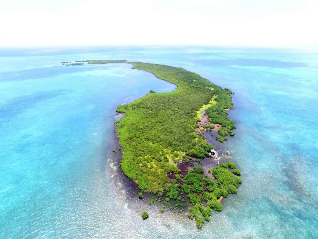 частный остров Crawl Caye, Белиз