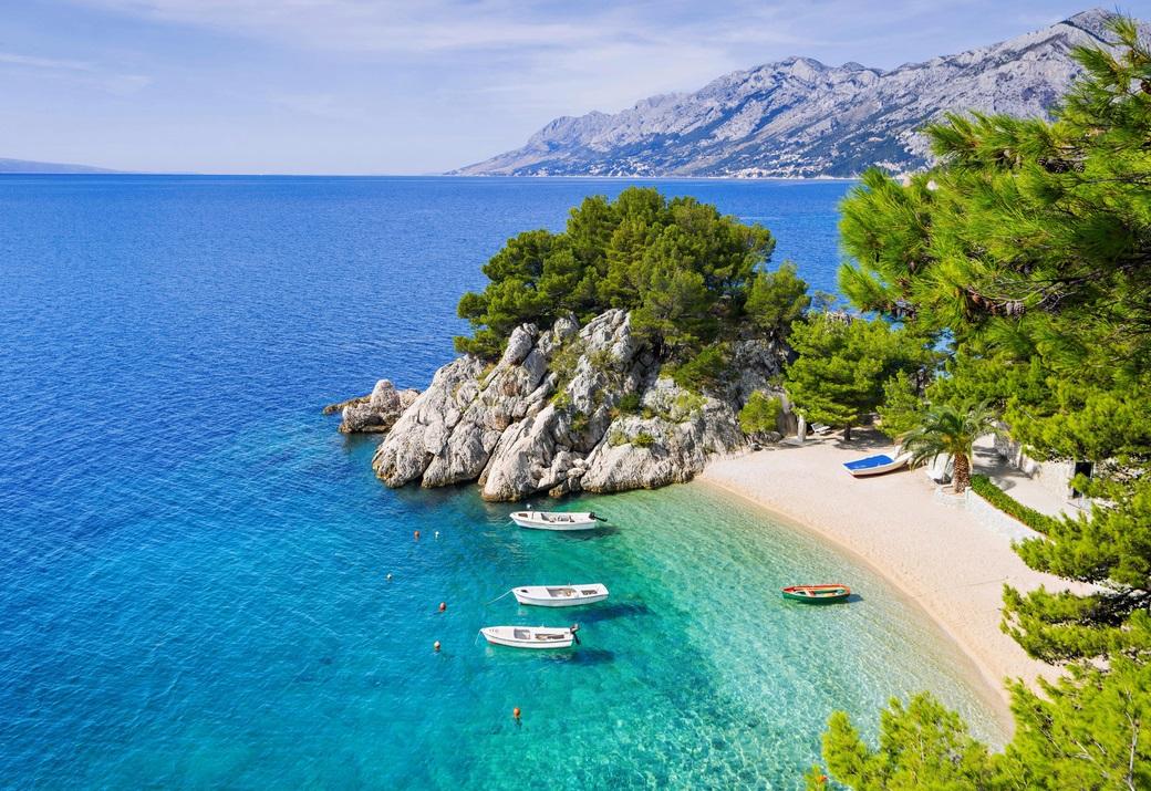 частный остров Биела, Хорватия