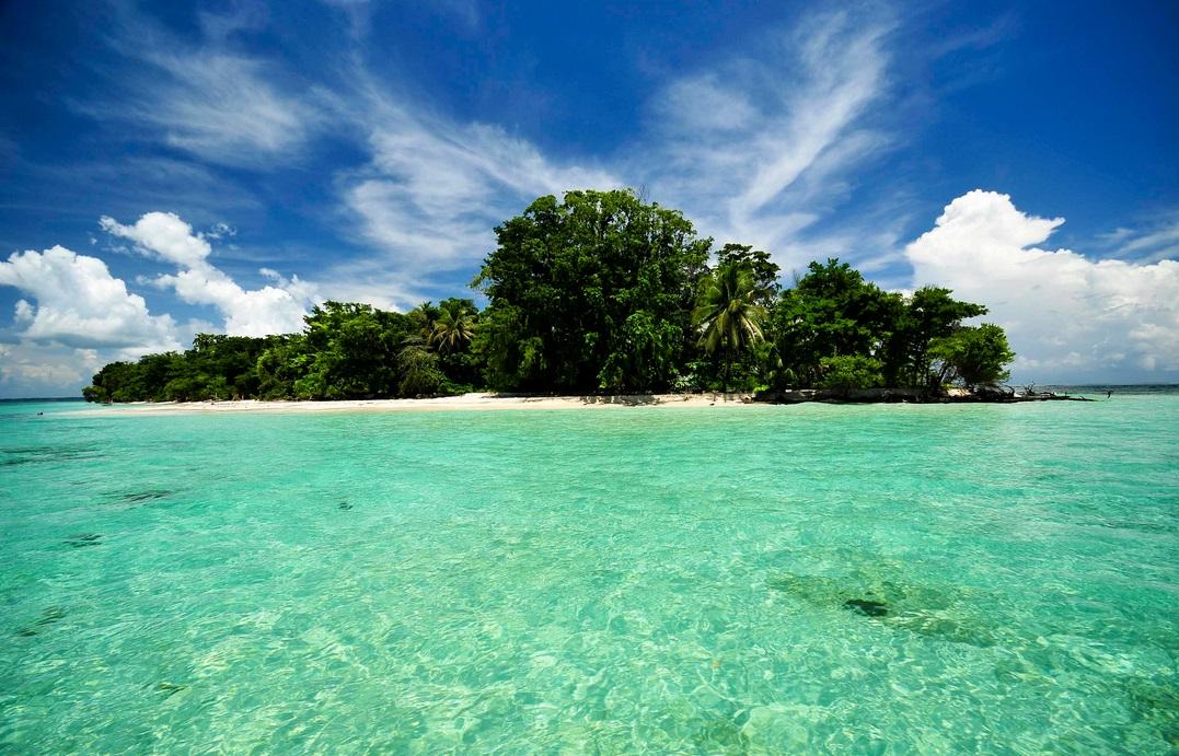 частный остров Голубого Дельфина, Панама