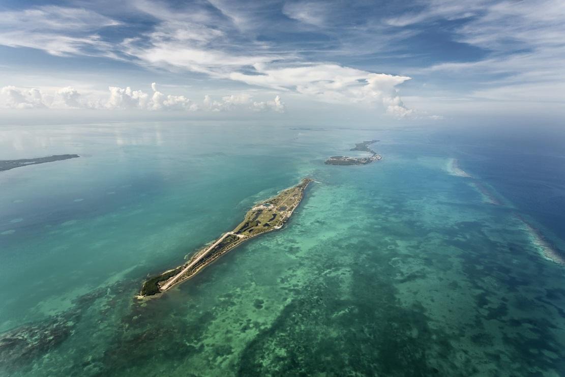 частный остров Caye Chapel