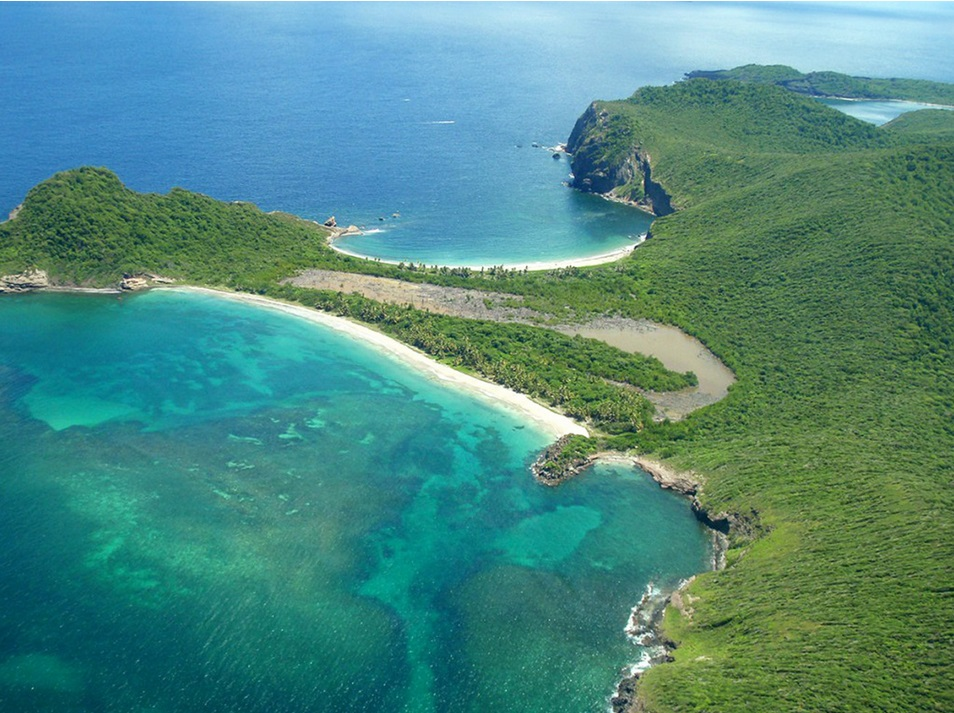 частный остров Ронд в Карибском море