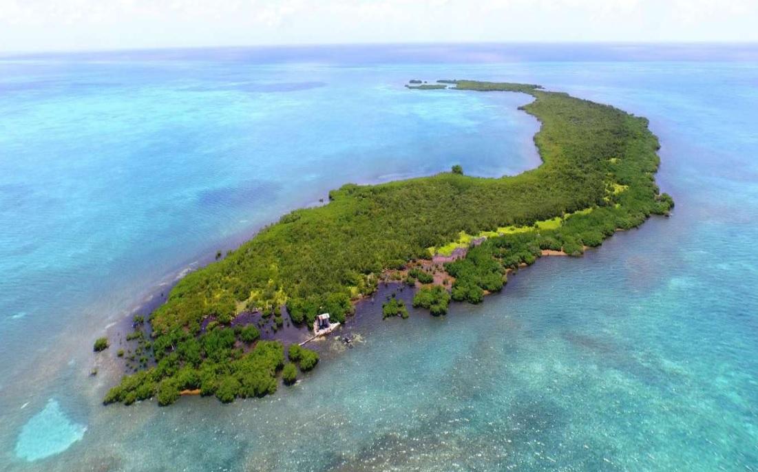частный остров Crawl Caye, Белиз, Карибский бассейн