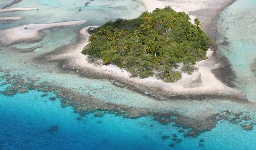 частный остров Nengo Nengo в Полинезии