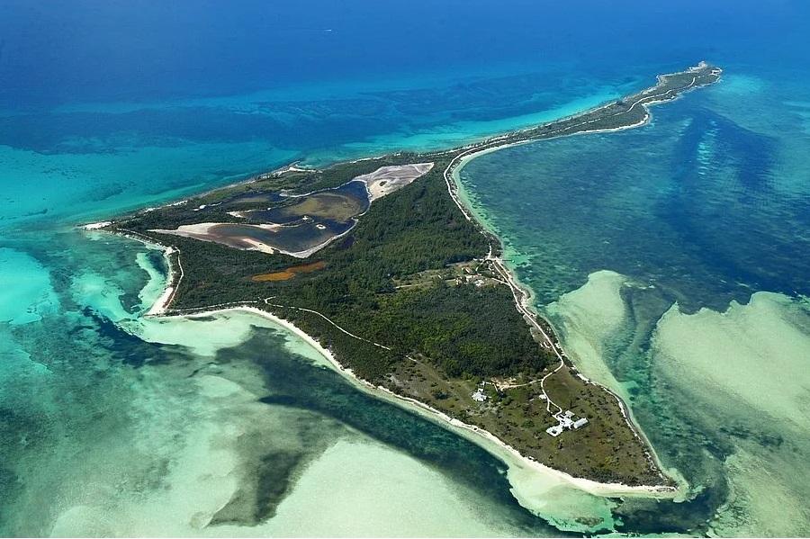 частный остров Берд Кей на Багамах